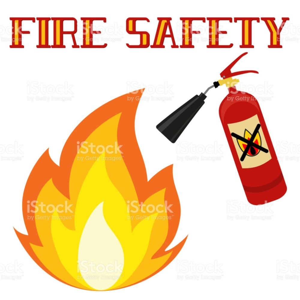 medium resolution of clipart fire safety 8