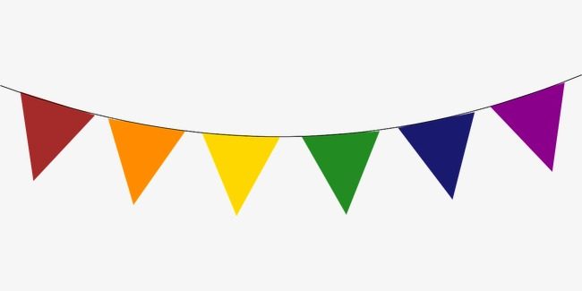 colorful banner clipart 6