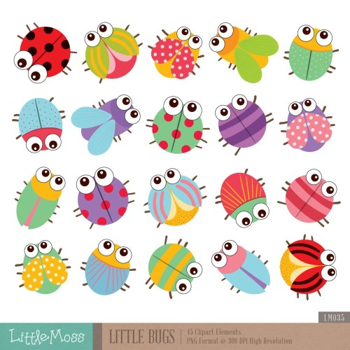 small resolution of cute bug clipart 4