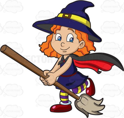 small resolution of cute witch clipart 2
