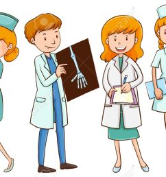 doctor and nurse clipart 2 [ 1300 x 823 Pixel ]