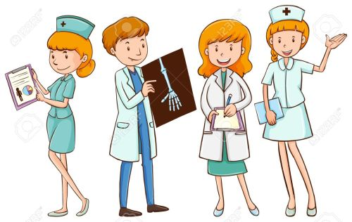 small resolution of doctor and nurse clipart 2