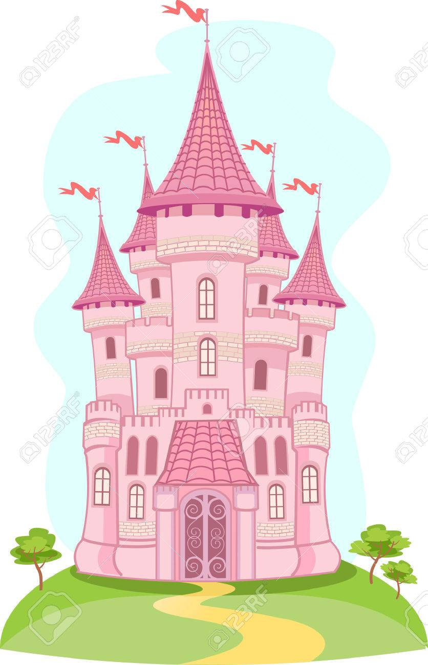 hight resolution of fairytale castle clipart 4