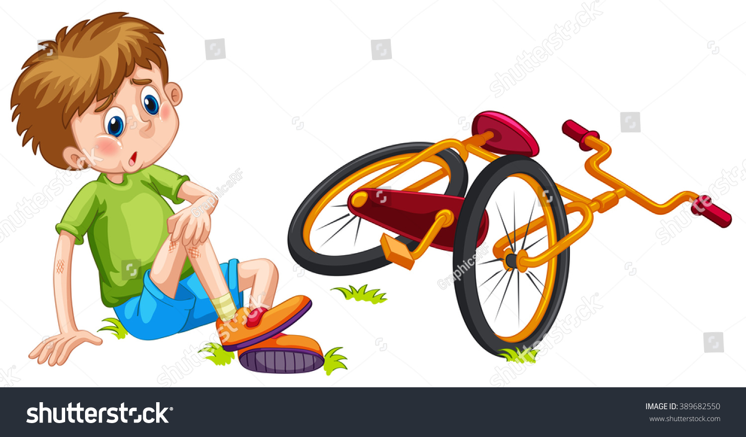 hight resolution of falling off a bike clipart 5