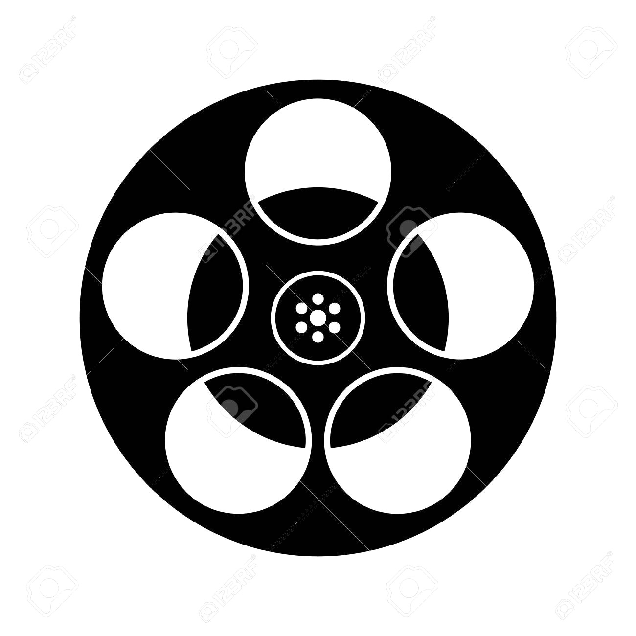 hight resolution of film reels clipart 2