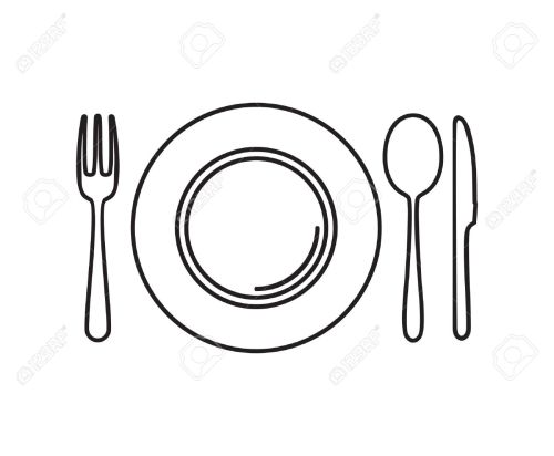 small resolution of fork knife spoon clipart 7
