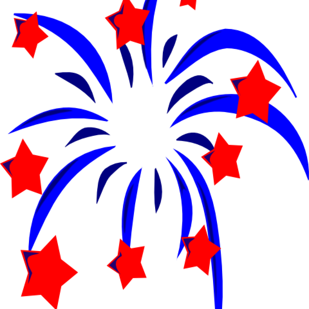 hight resolution of free 4th of july fireworks clipart 4