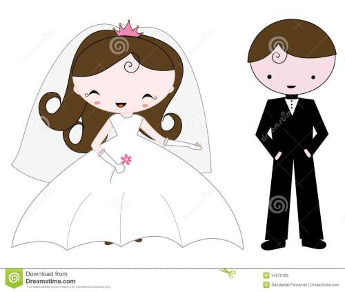 small resolution of free bride and groom clipart 3