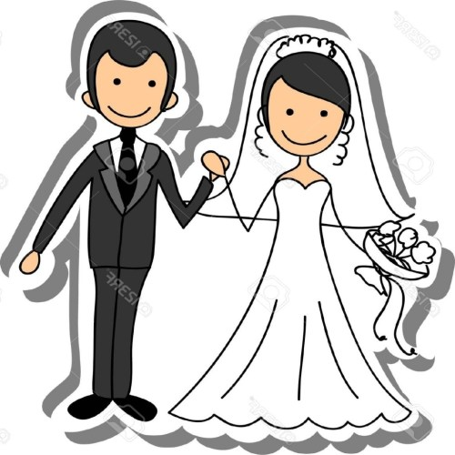 small resolution of free bride and groom clipart 6