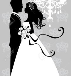 free bride and groom clipart 7 [ 779 x 1300 Pixel ]