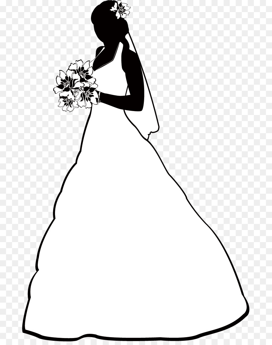hight resolution of free bride clipart 3