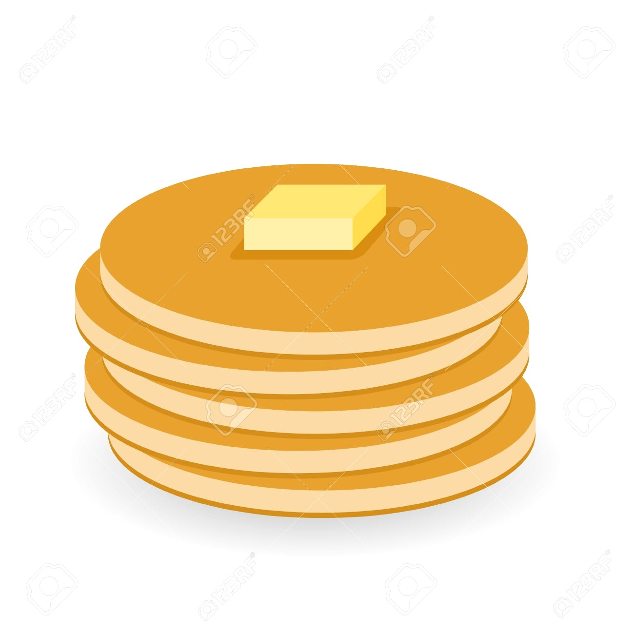 hight resolution of free clipart pancakes 2