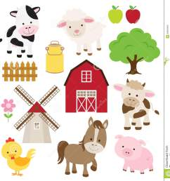 free farm animal clipart 6 [ 1309 x 1300 Pixel ]