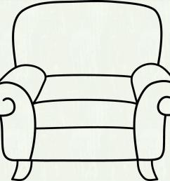 furniture clipart black and white 2 [ 1899 x 1740 Pixel ]