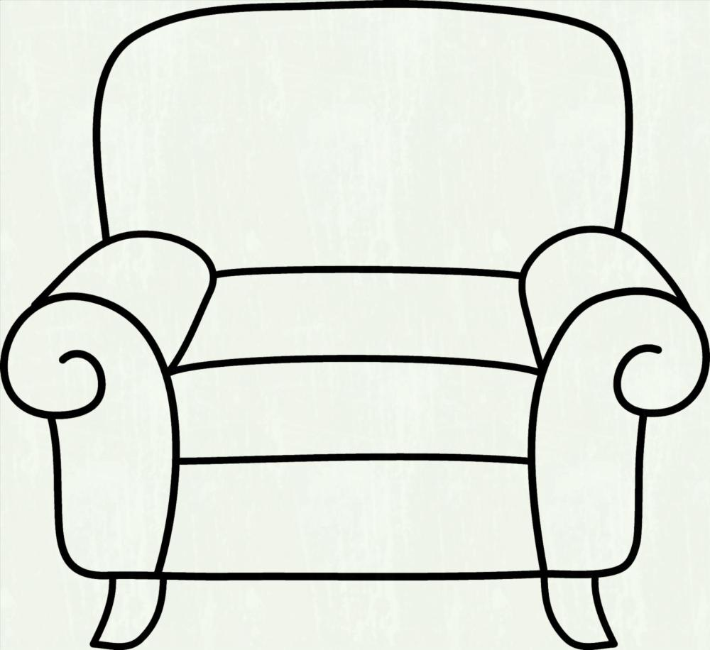 medium resolution of furniture clipart black and white 2