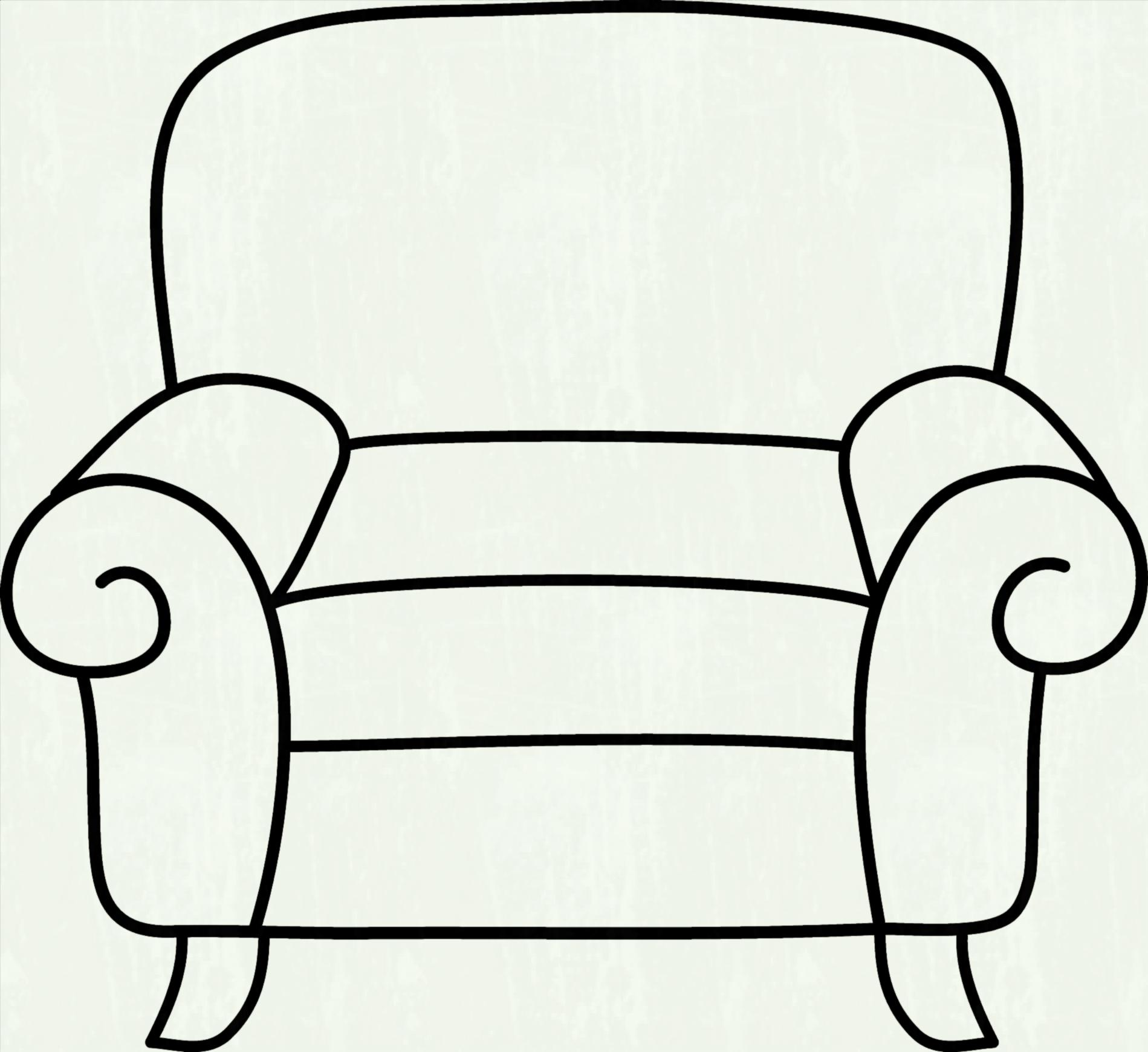 hight resolution of furniture clipart black and white 2