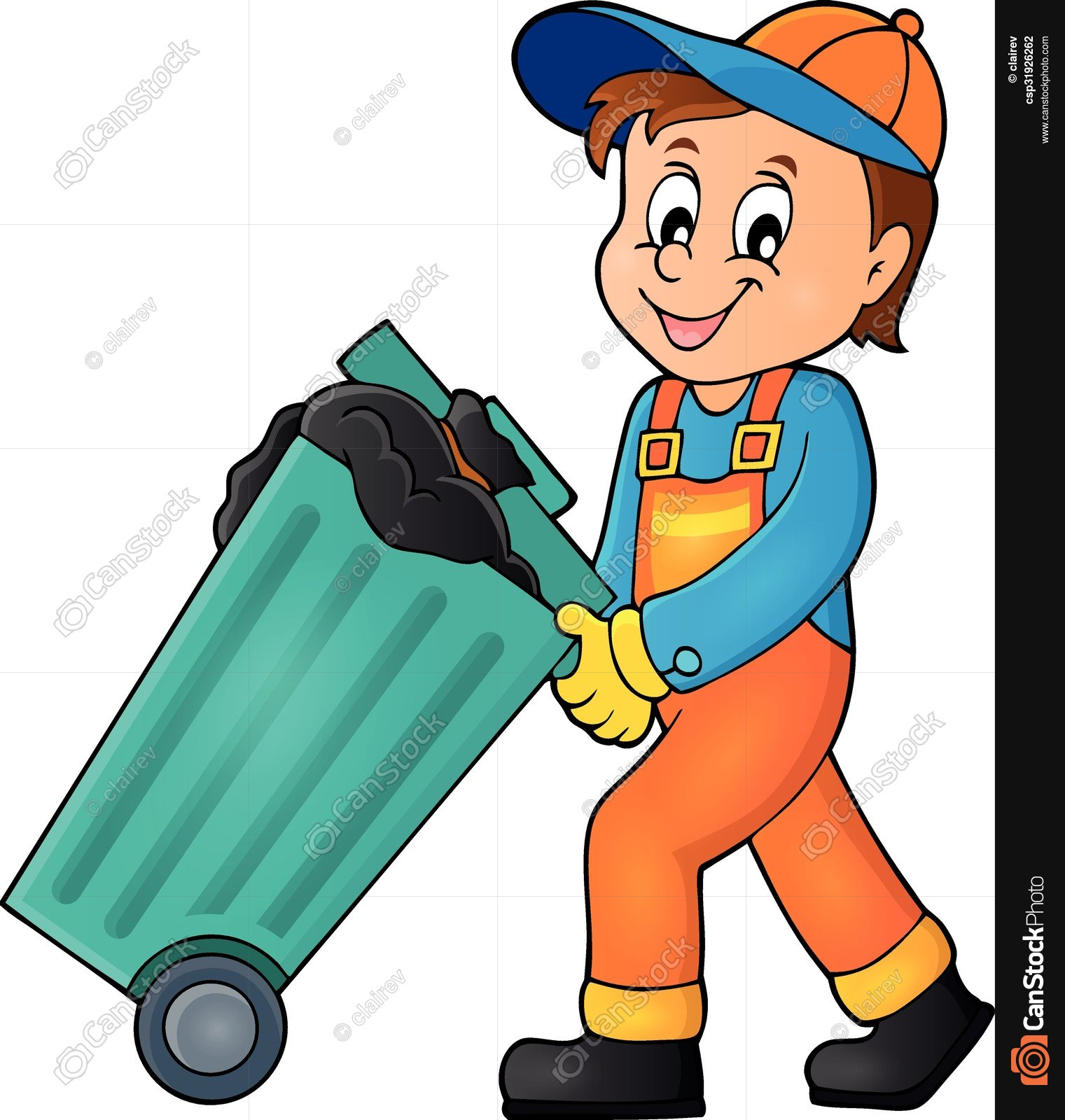Garbage Man Clipart 6 Clipart Station