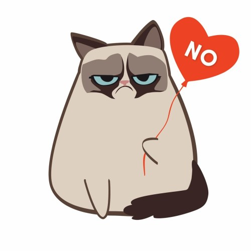 small resolution of grumpy cat clipart 7