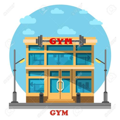 small resolution of gym or gymnasium fitness center architecture
