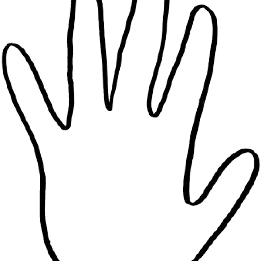 Hand Outline Clipart 2 Clipart Station