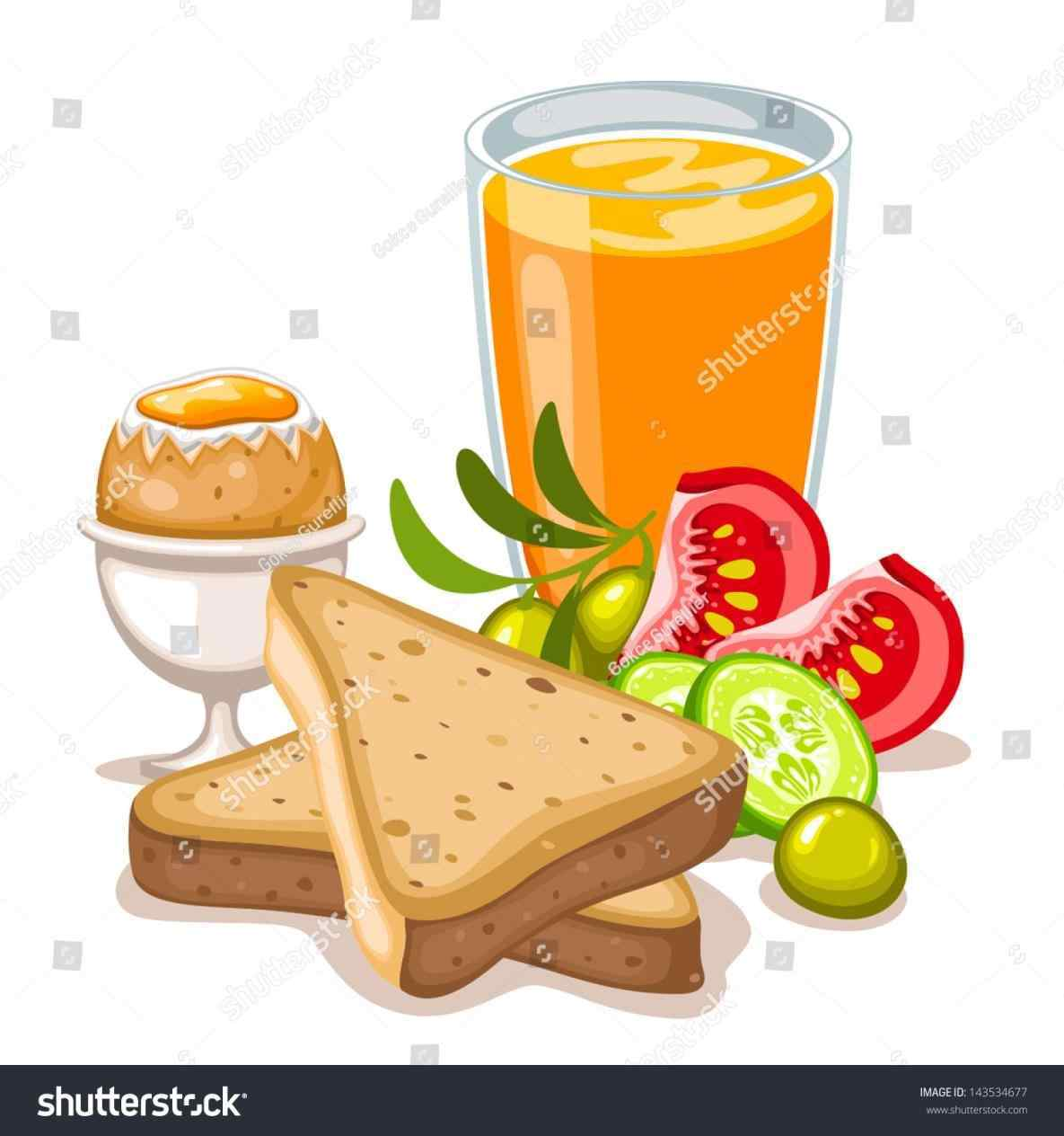 hight resolution of healthy breakfast clipart 6