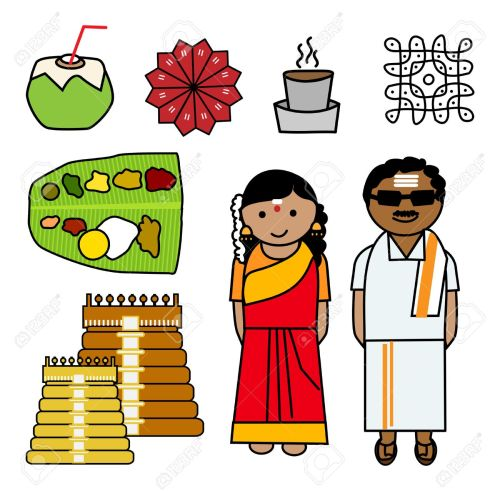small resolution of indian couple clipart 4