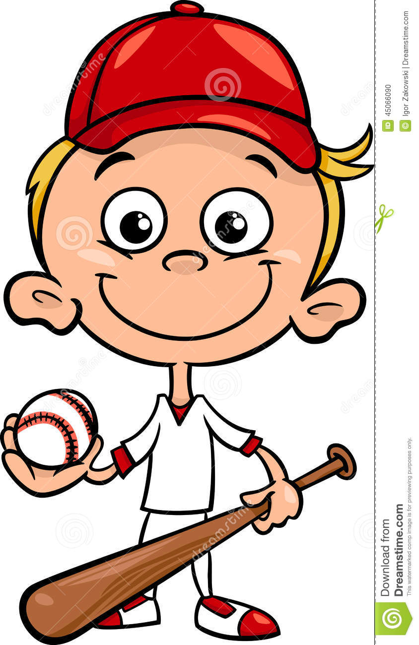 hight resolution of kid baseball player clipart 2
