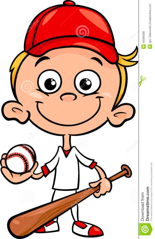 small resolution of kid baseball player clipart 2