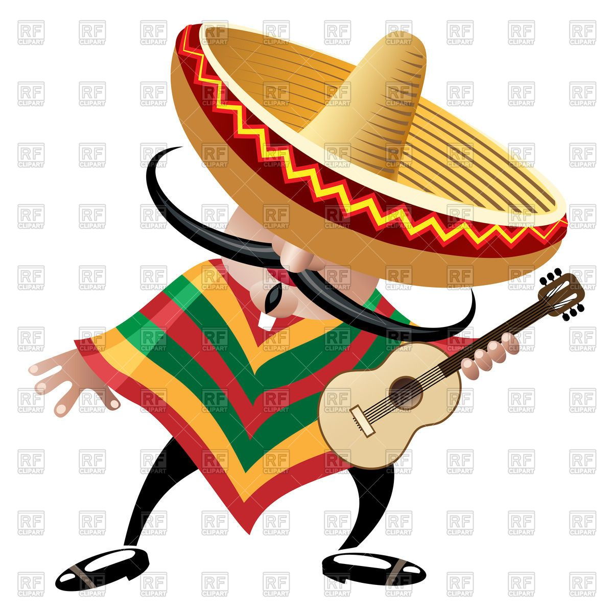 hight resolution of man in sombrero clipart 2