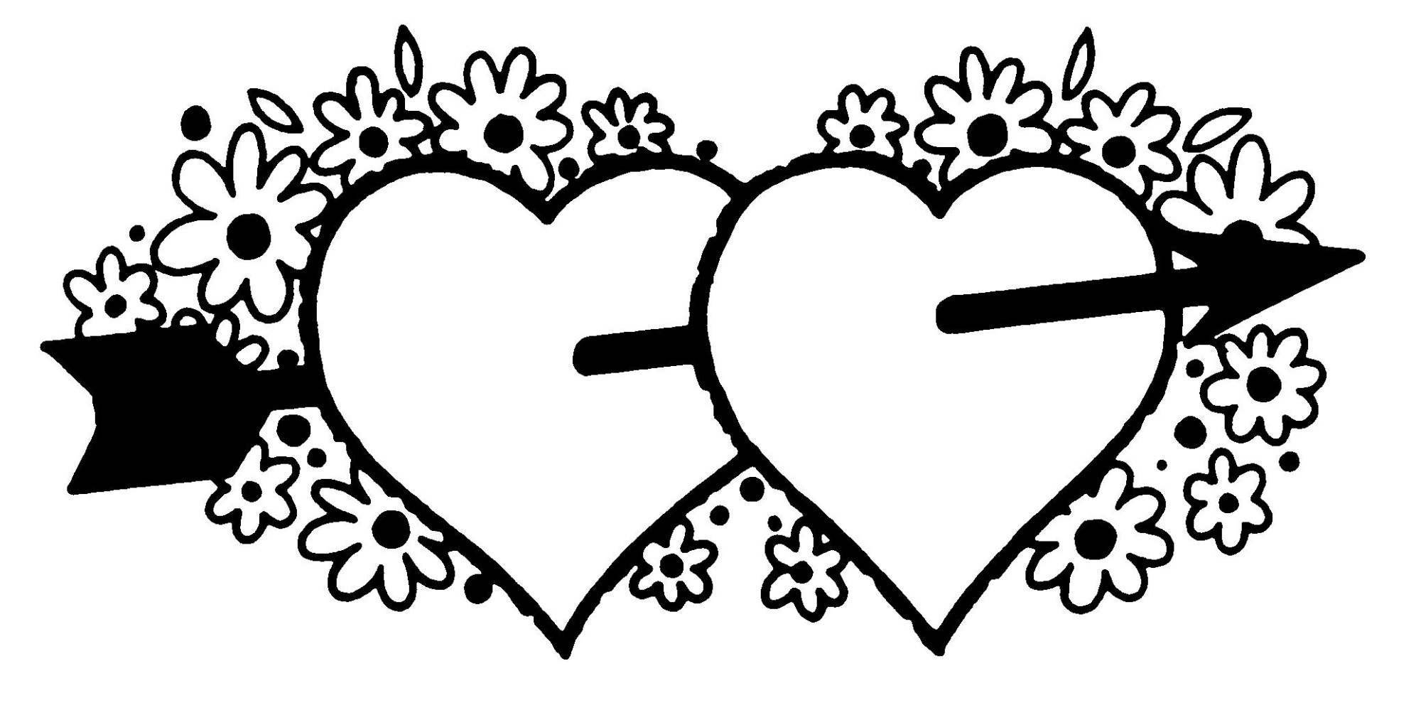 hight resolution of marriage clipart black and white 4