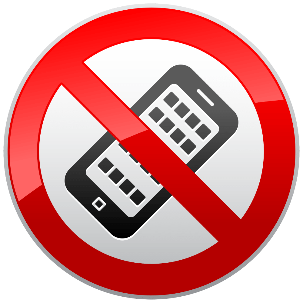 medium resolution of no cell phone clipart 5