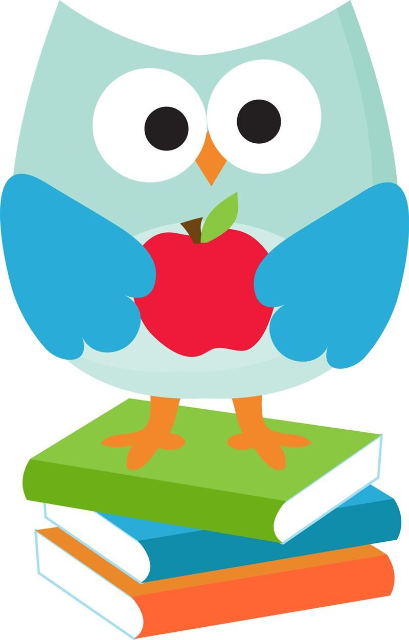 hight resolution of owl school clipart 5
