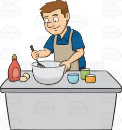 people cooking clipart 3 [ 952 x 1024 Pixel ]