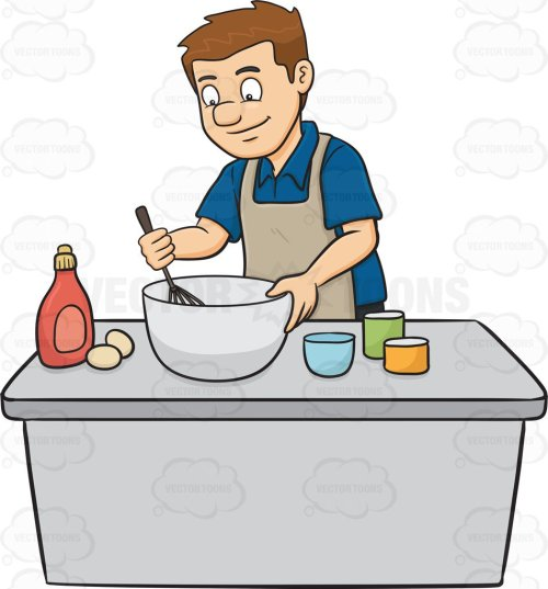 small resolution of people cooking clipart 3