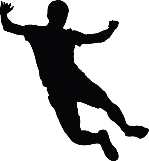 small resolution of person falling clipart 4