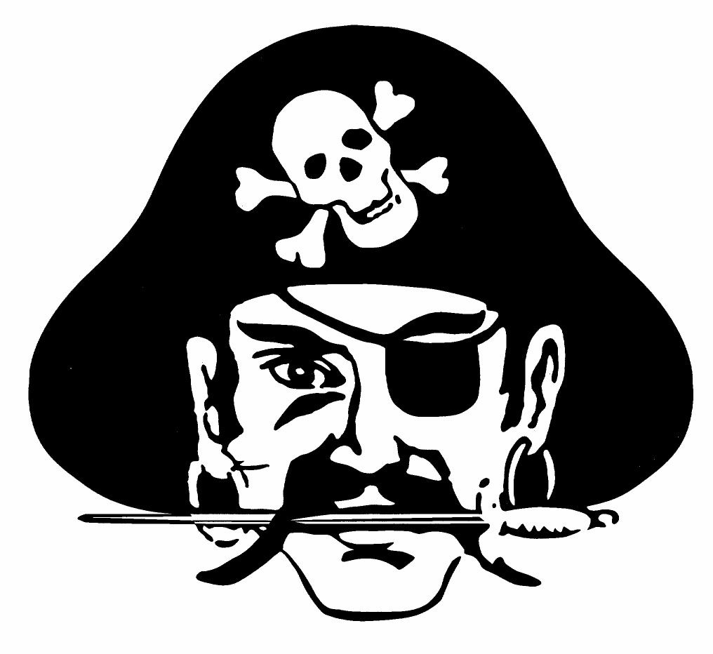 hight resolution of pirate mascot clipart 2
