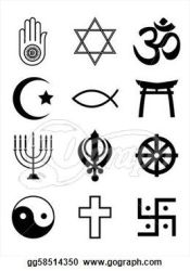 Religious clipart black and white Clipart Station