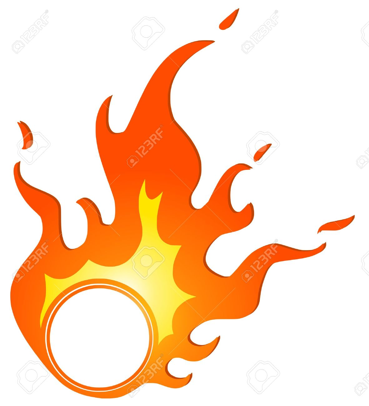 hight resolution of ring of fire clipart 4