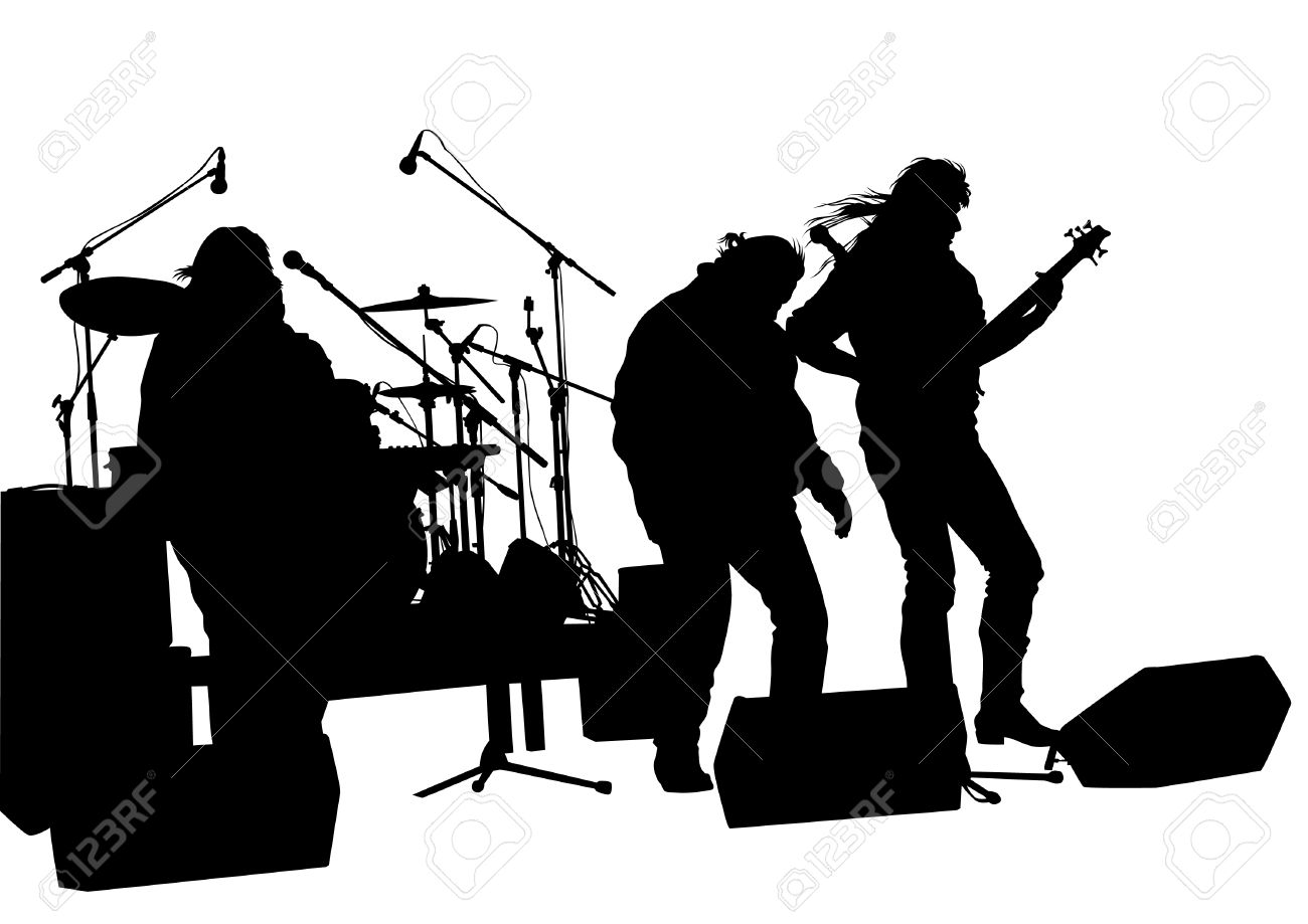 hight resolution of rock band clipart 1