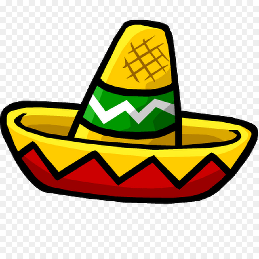 hight resolution of sombrero clipart png 1
