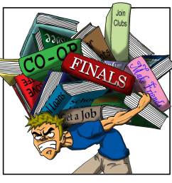 stressed out student clipart 4 [ 1600 x 1600 Pixel ]