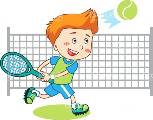 small resolution of tennis clipart 13