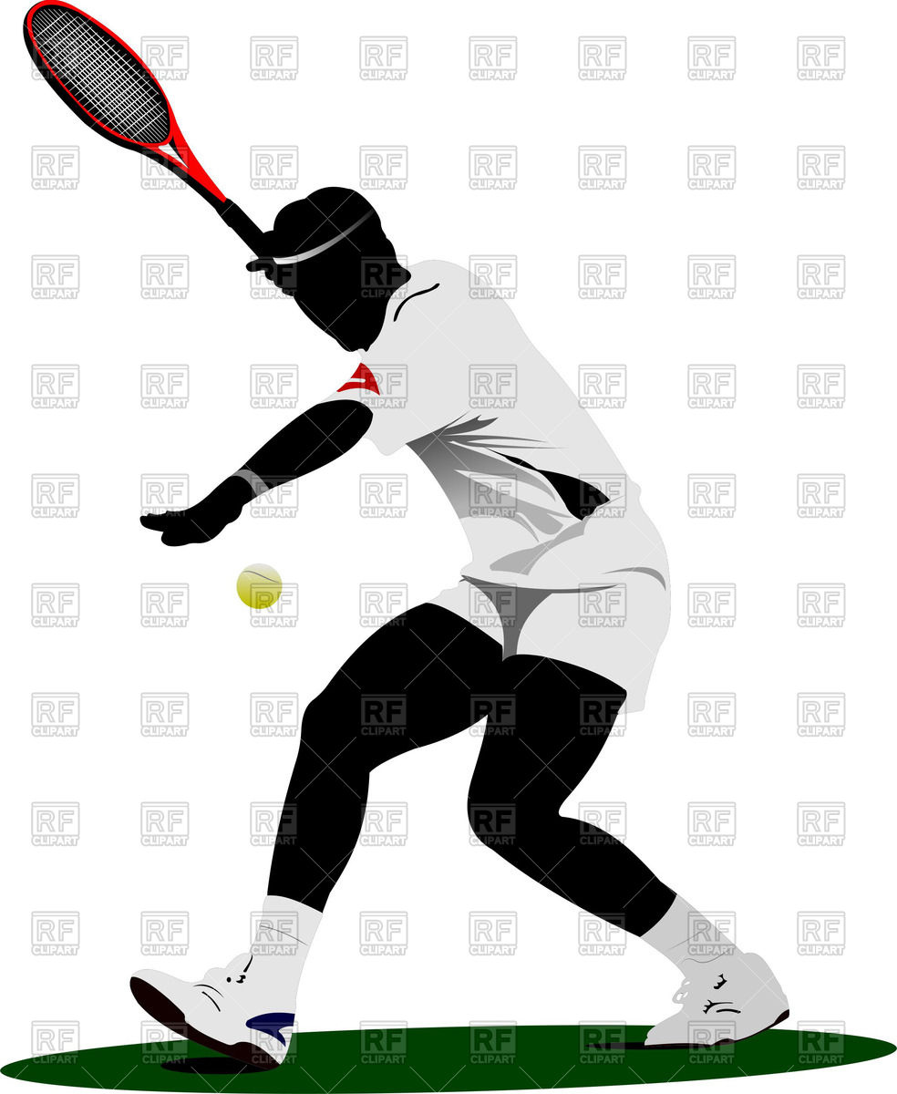 hight resolution of tennis clipart free download 7