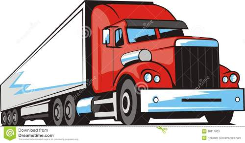 small resolution of transport truck clipart 1