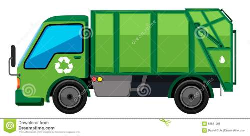 small resolution of trash truck clipart 1