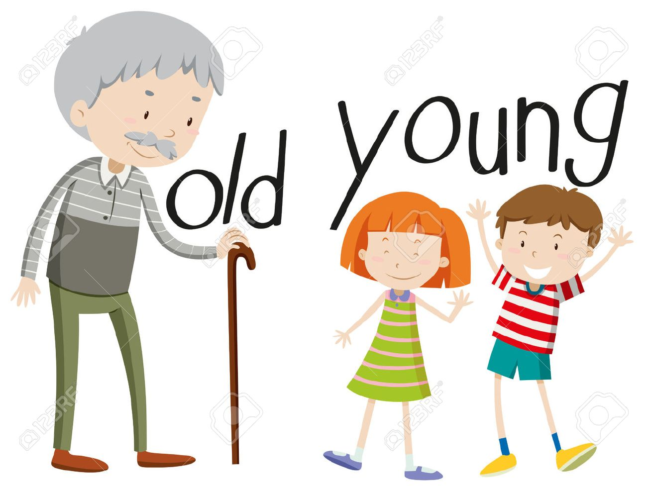 hight resolution of young clipart 1