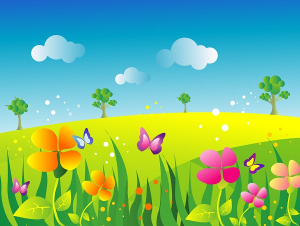 ' meadow clipart - clipground