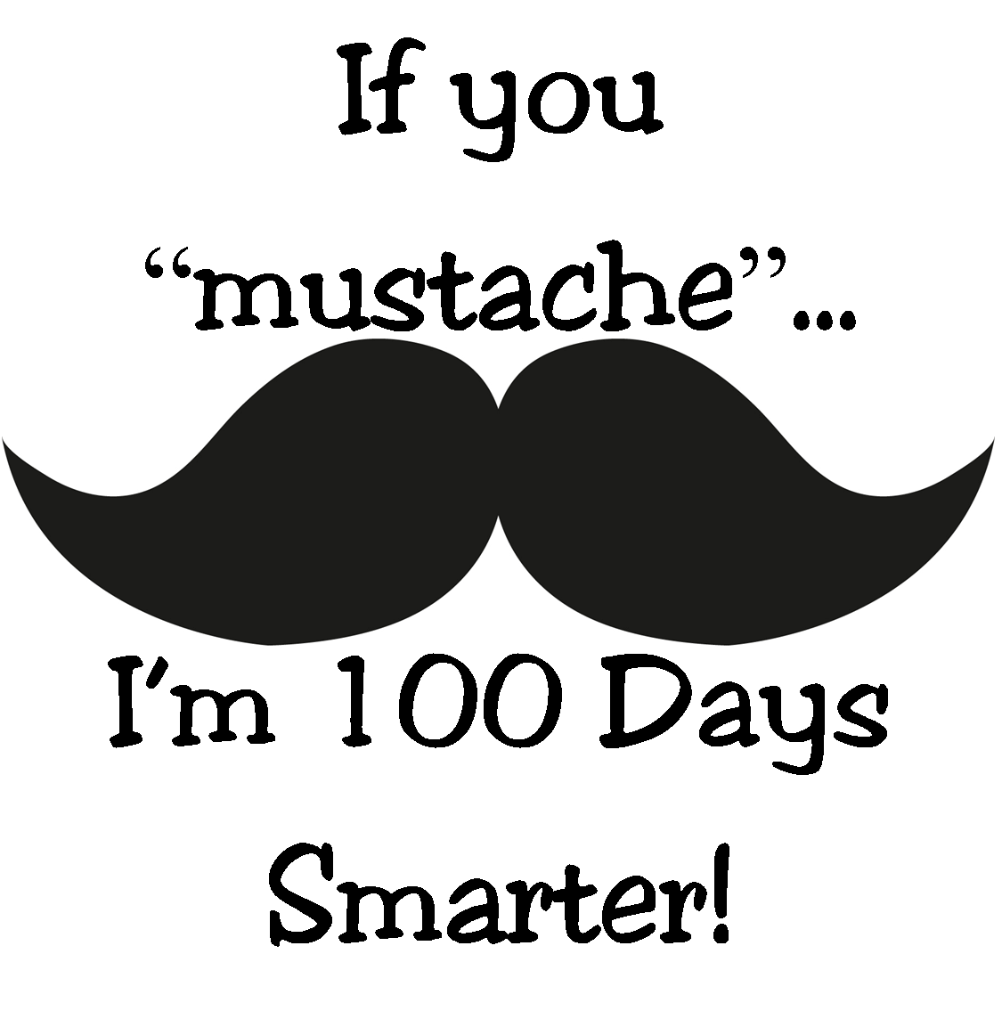 100 Day Snack Clipart