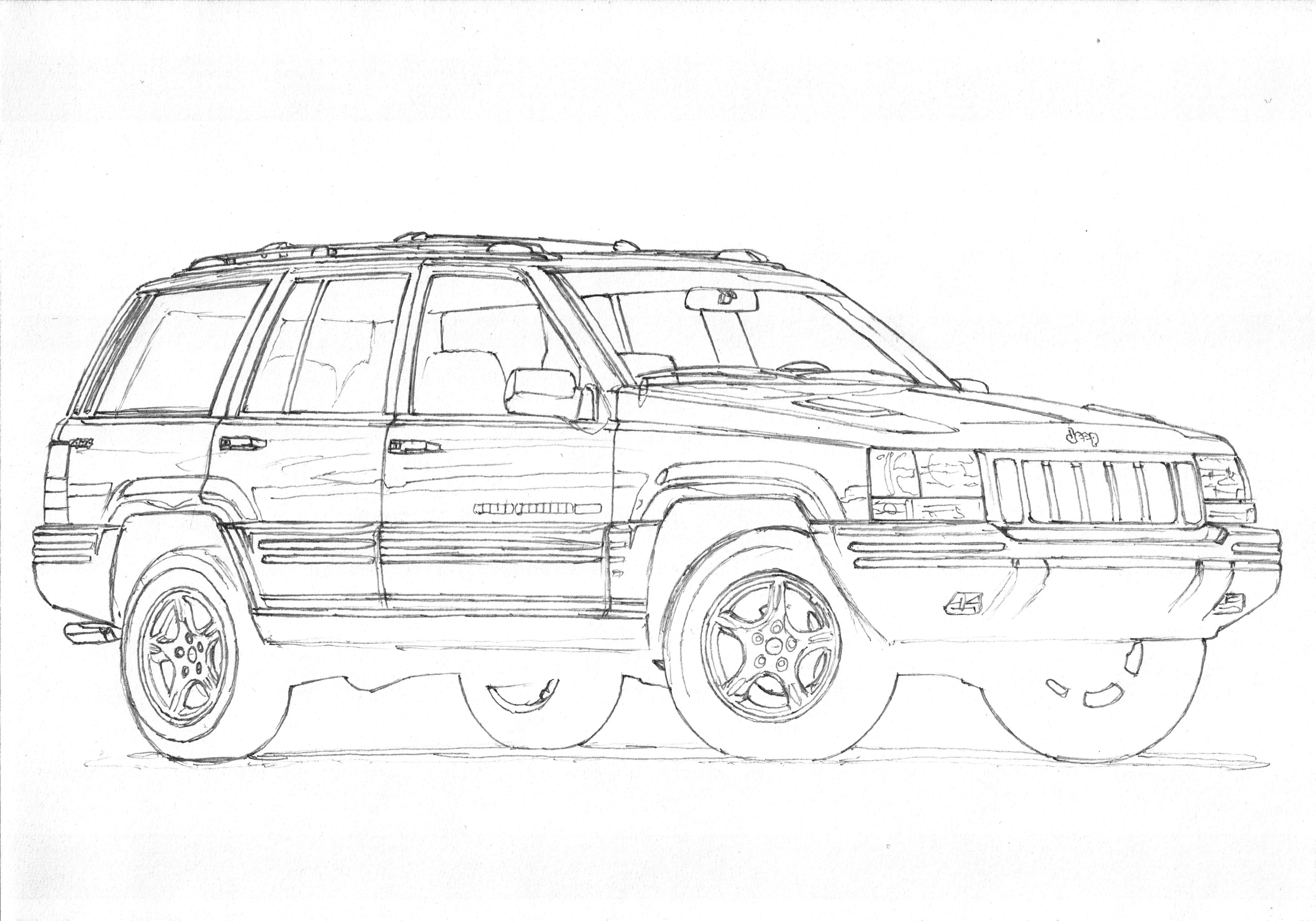 1998 jeep grand cherokee clipart 10 free Cliparts