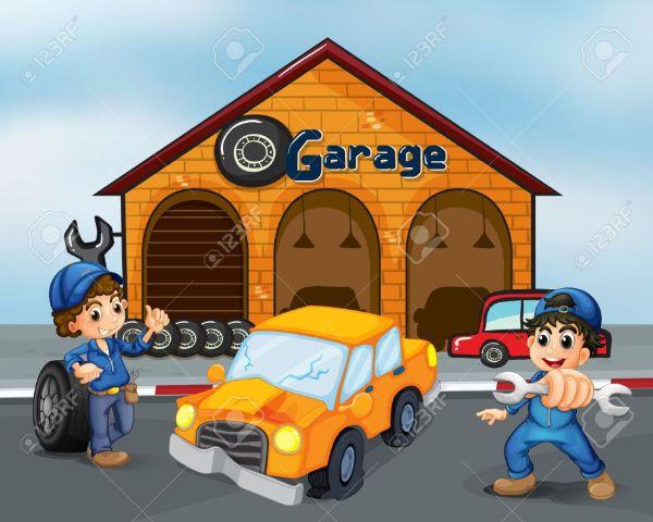 2 car garage clipart - clipground